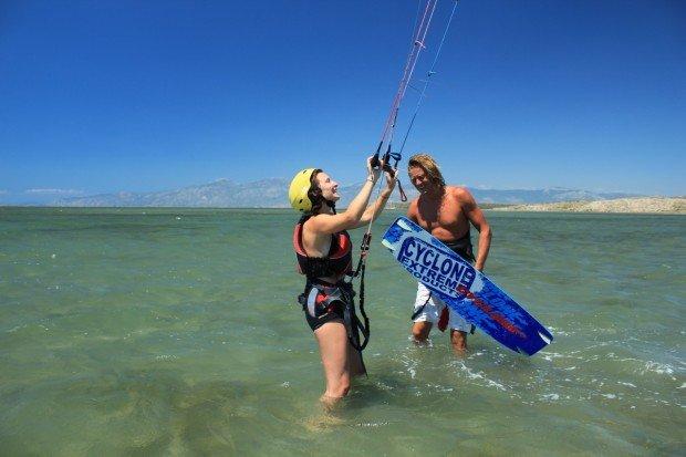 """Kitesurfing at Didim"""
