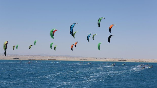 """""""African Kite Racing Championships in Soma Bay 