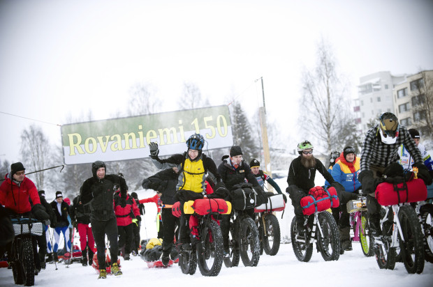 """Rovaniemi150 Arctic Winter Race"""