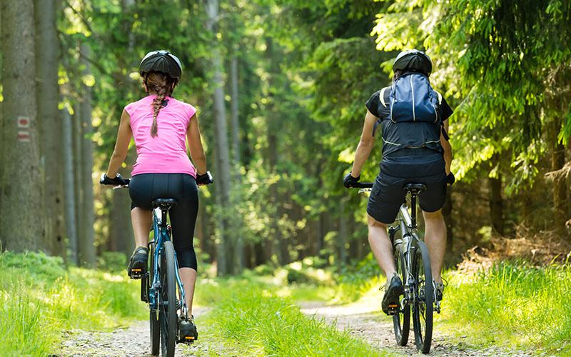 ''Mountain Biking in Corfu''