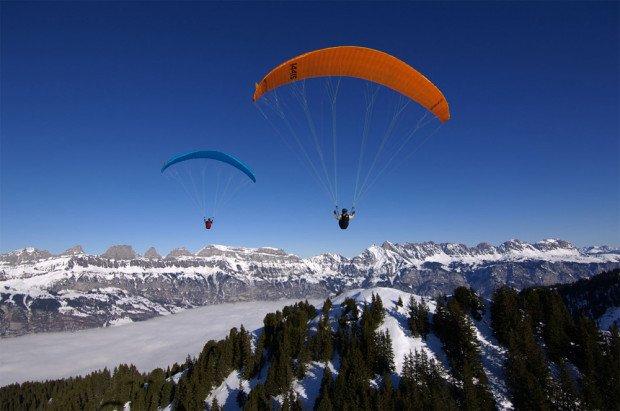 ''Paragliding in Velia, Kalavrita, Achaia''