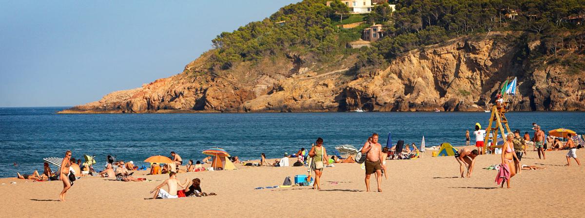 wind surfing platja de pals pals costa brava catalonia spain