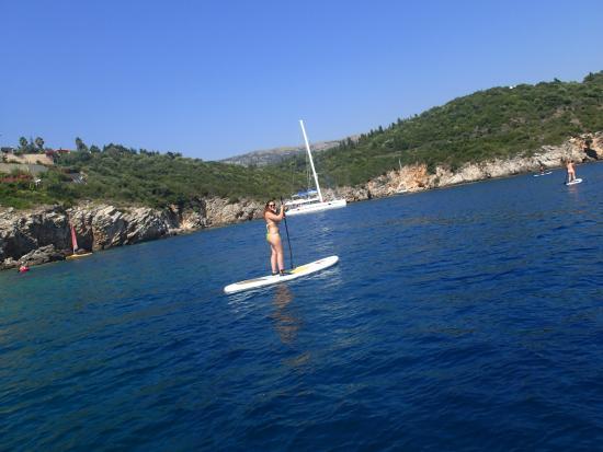 ''SUP in Corfu''