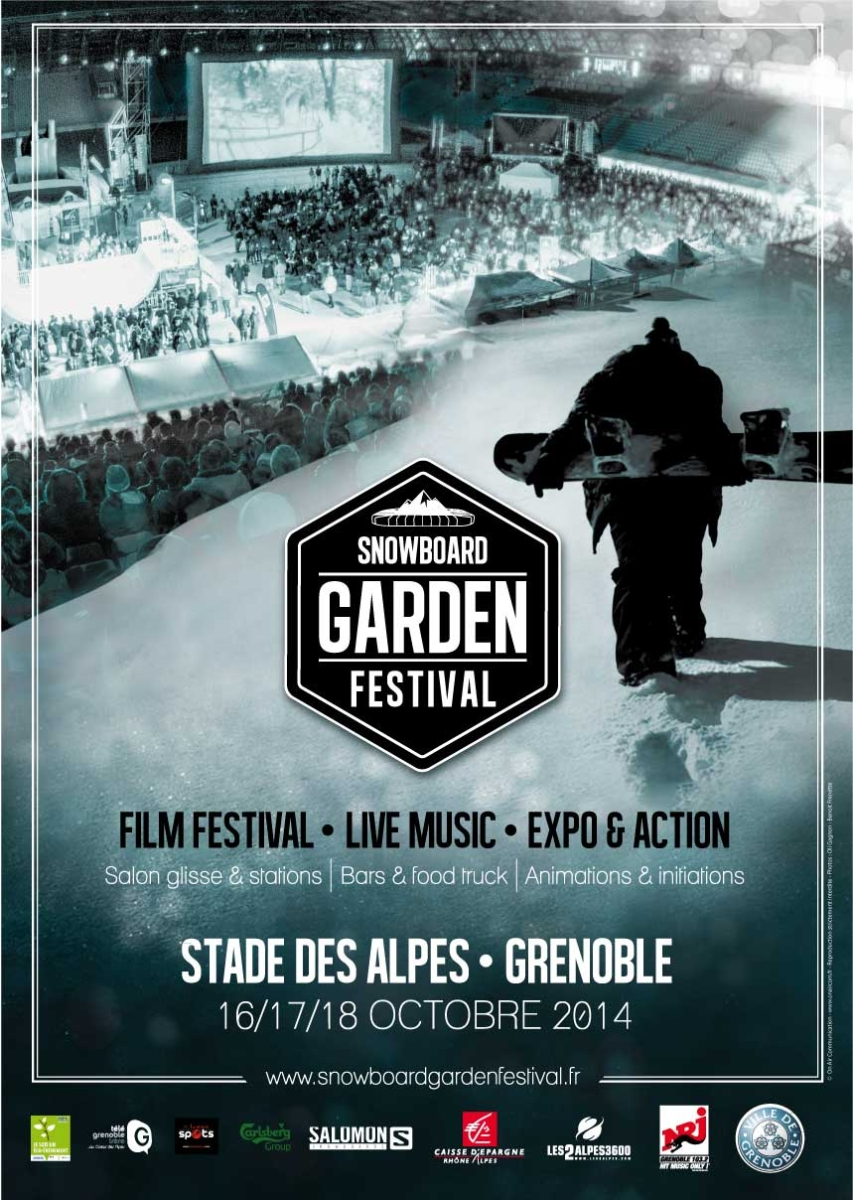 Snowboarding Snowboard Garden Festival Grenoble Rhone Alpes France
