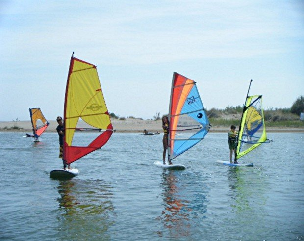 """""""Windsurfing at Gulf of Roses"""""""
