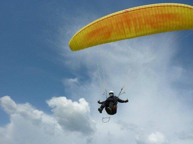 ''Paragliding in Agia Lavra, Kalavrita, Achaia''