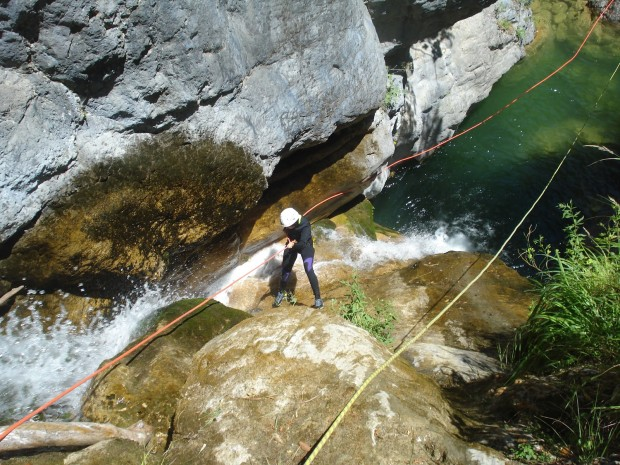 ''Canyoning in Orlias Canyon, Mt. Olympus''