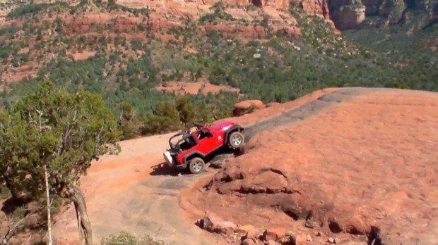 """""""Four Wheel Driving in Broken Arrow Trail"""""""