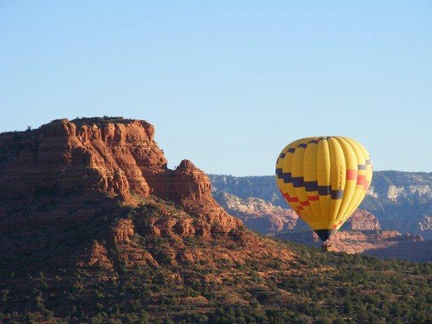 """Hot Air Ballooning in Sedona"""