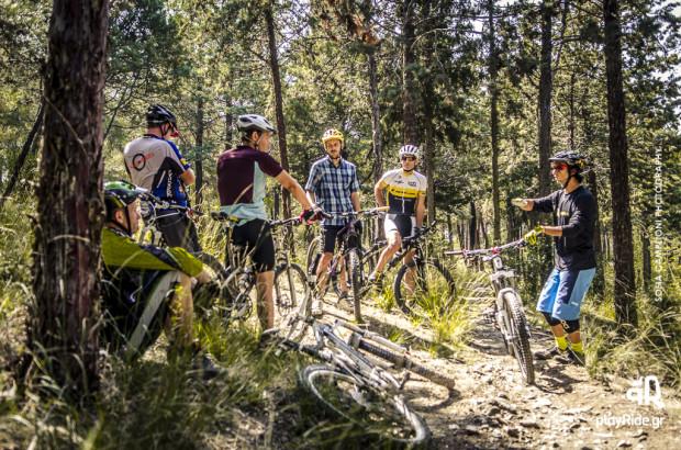 """""""Mountain Biking at Seih Sou Mountain Bike Trail"""""""