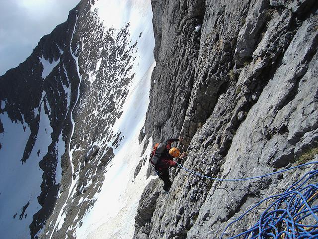 ''Rock Climbing in Mt. Olympus''