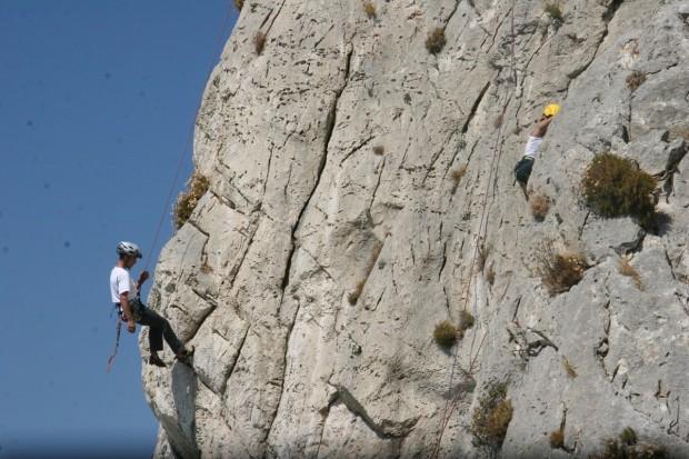 ''Rock Climbing in Parnitha''