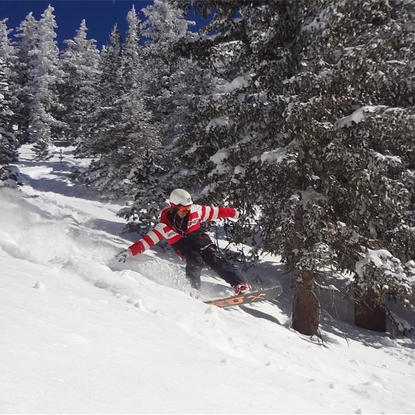 Best Places In The Us To Snowboard: Snowboarding Arizona Snowbowl Flagstaff Arizona USA