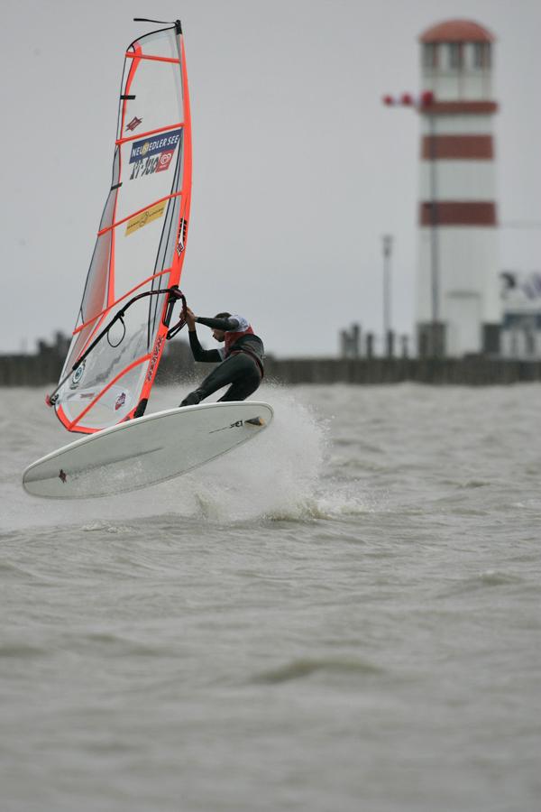"""""""Windsurf in Lake Neuseidl"""""""