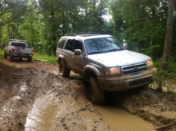 """""""Four Wheel Driving in Dirty Turtle Offroad Park"""""""