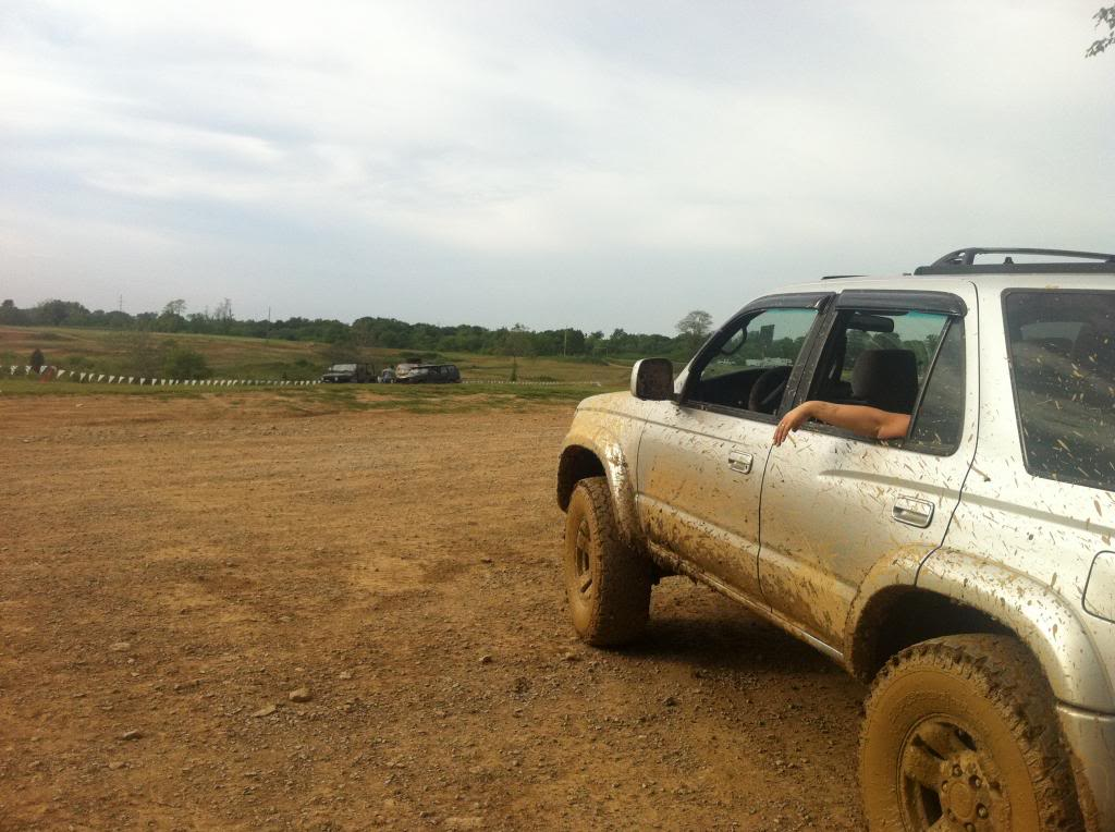 Four Wheel Driving Dirty Turtle Offroad Park Bedford
