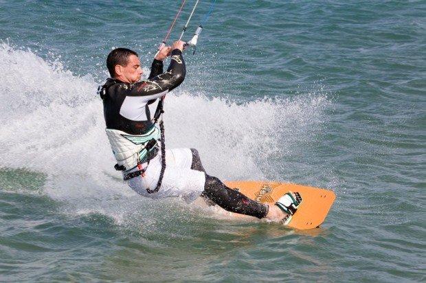 """""""Kitesurfing in La Franqui"""""""