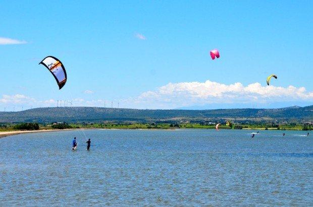 """""""Kitesurfing in La Palme"""""""