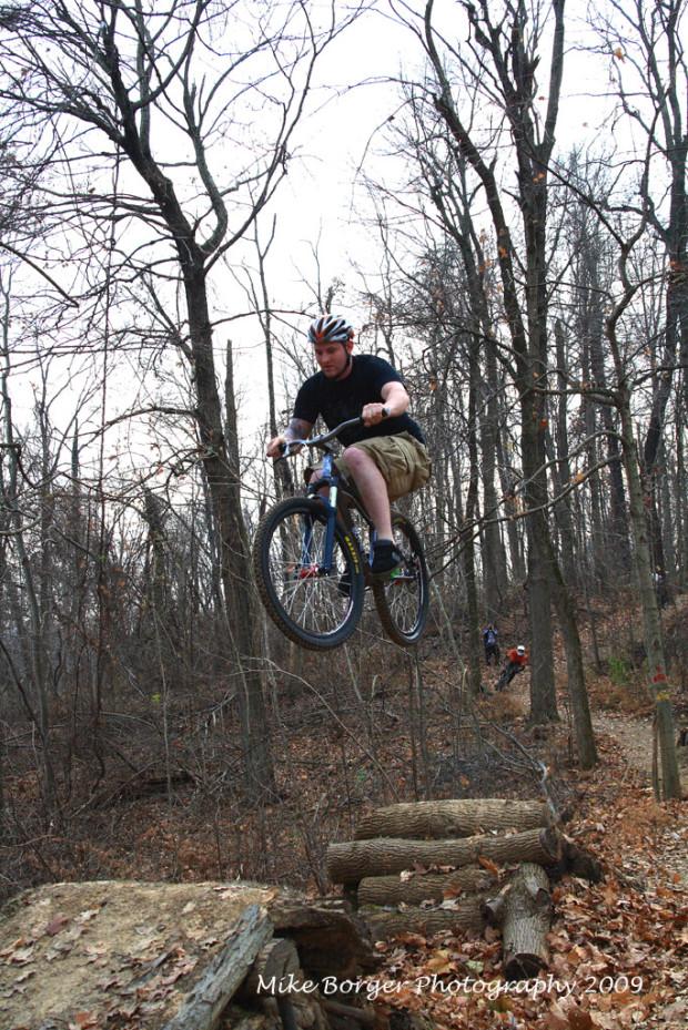 """""""Mountain Biking in Ft Duffield"""""""