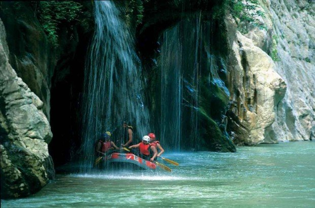 ''Rafting in Arachthos River, Tzoumerka''