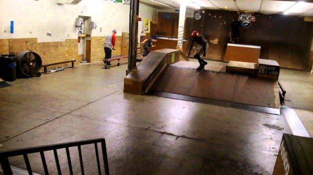 """""""Skateboarding in Riot Skatepark"""""""
