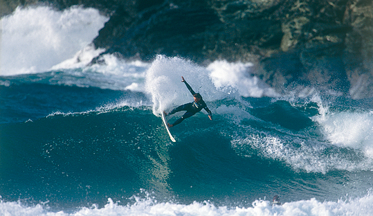''Surfing in Galicia, Spain''