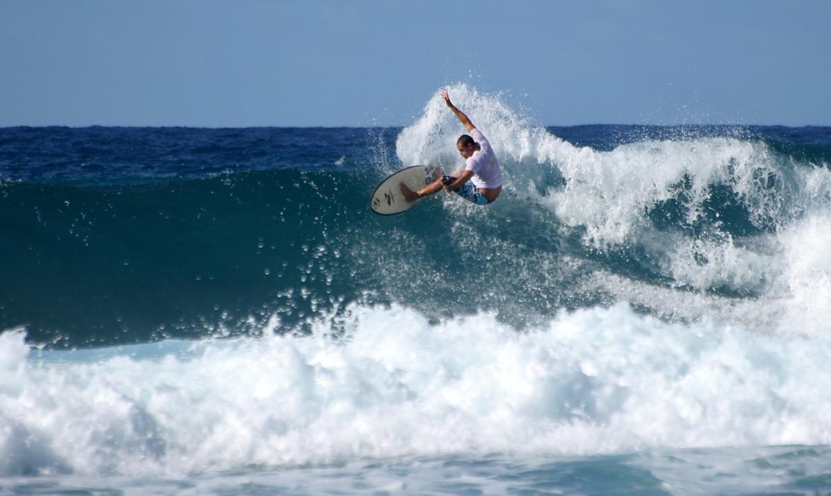 Surfing Soup Bowl Barbados