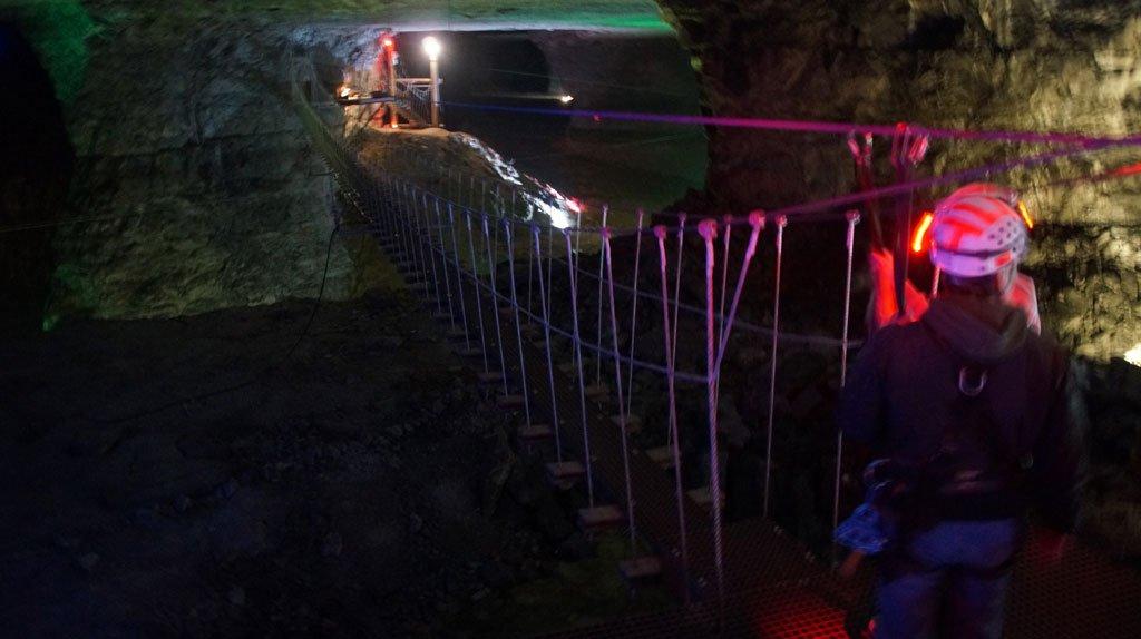 Zip Lining Louisville Mega Cavern Louisville Kentucky Usa