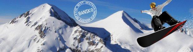 """""""Snowboarding In Bansko Ski Resort"""""""