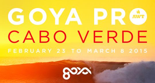"""AWT Goya Pro Cabo Verde Kicks Off in Style!"""