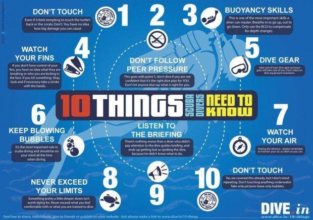 """""""10 Things Scuba Divers Need to Know"""""""