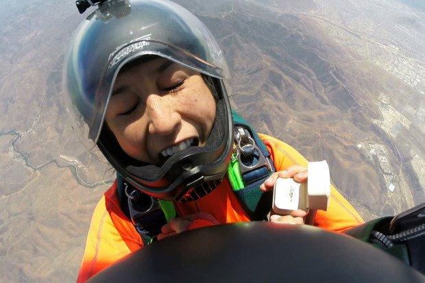"""""""Skydive Wedding Proposal"""""""