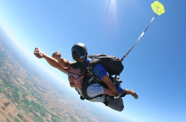 """""""Skydiving at Aamby Valley"""""""