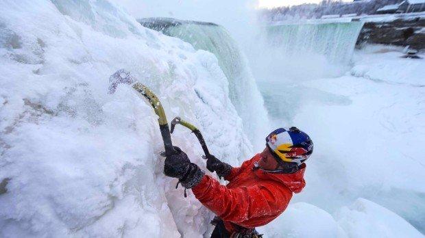 """Climbing Niagara Falls"""