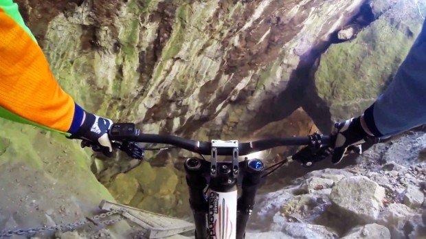 """MTB downhill cave"""