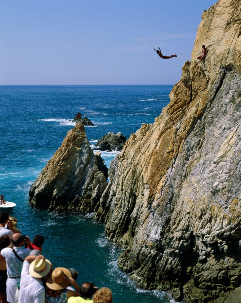 Cliff Jumping Gone Massive