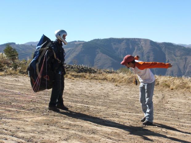AndesXtremo Paragliding School in Bolivia
