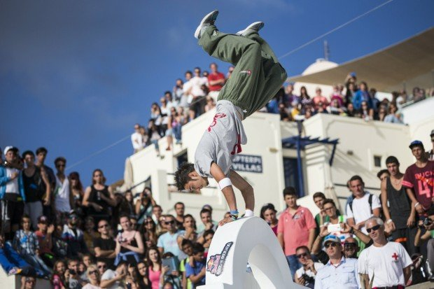 """""""Red Bull Art of Motion, Santorini"""""""
