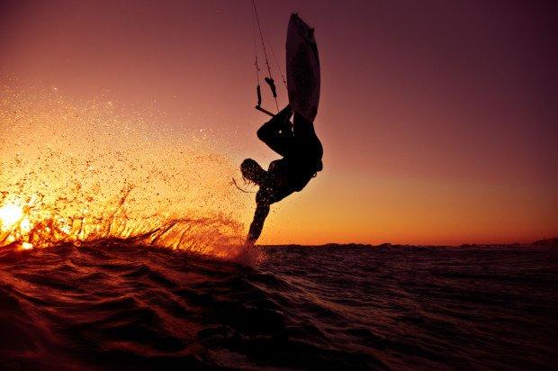 """""""kitesurfing Potima bay"""""""