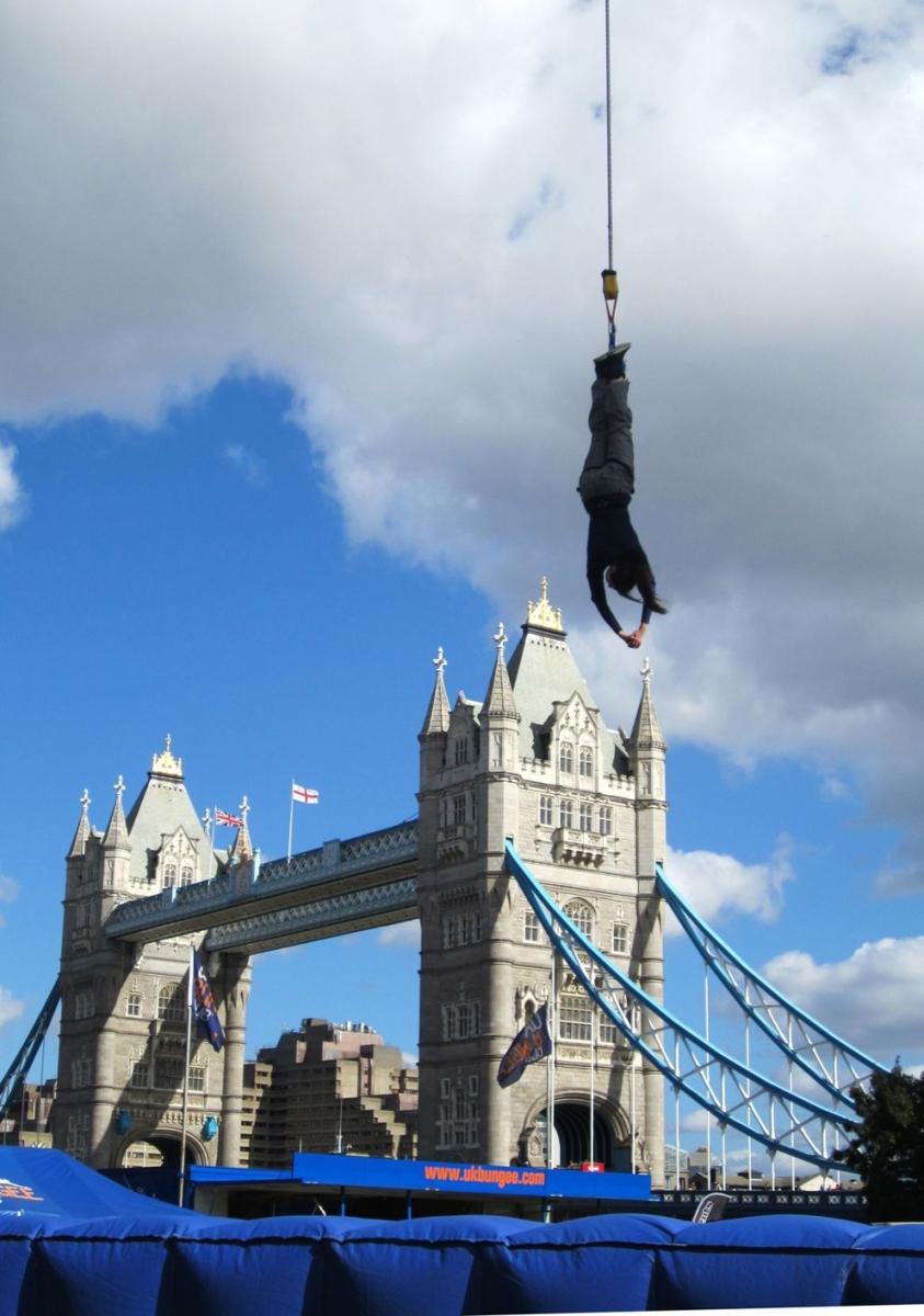bungee jumping the o2 arena london united kingdom. Black Bedroom Furniture Sets. Home Design Ideas