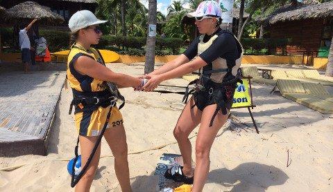 """""""Kitesurfing with Kitesuf Vietnam"""""""