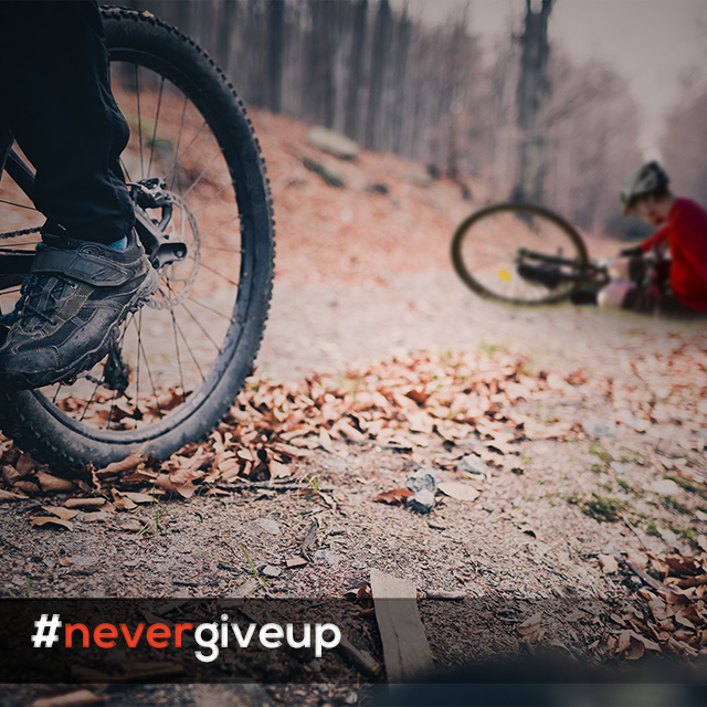 """Biker-NeverGiveUp_Inst"""