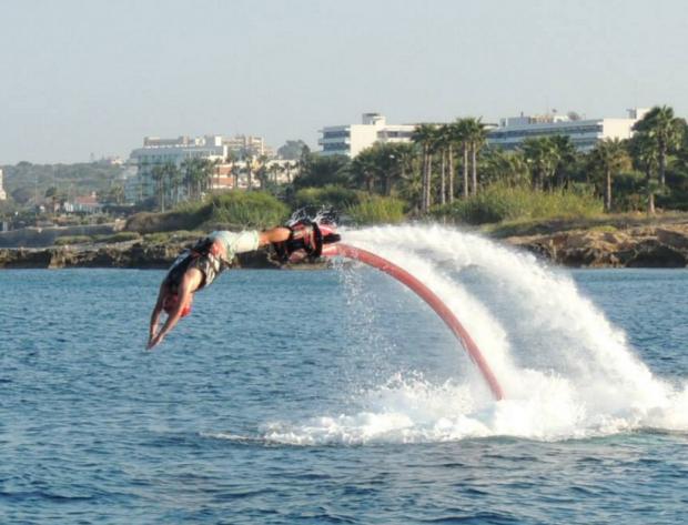 """Flyboarding Cyprus 9"""