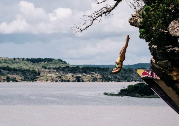 """""""Wildcard competitor Rhiannan Iffland claims cliff diving top spots"""""""