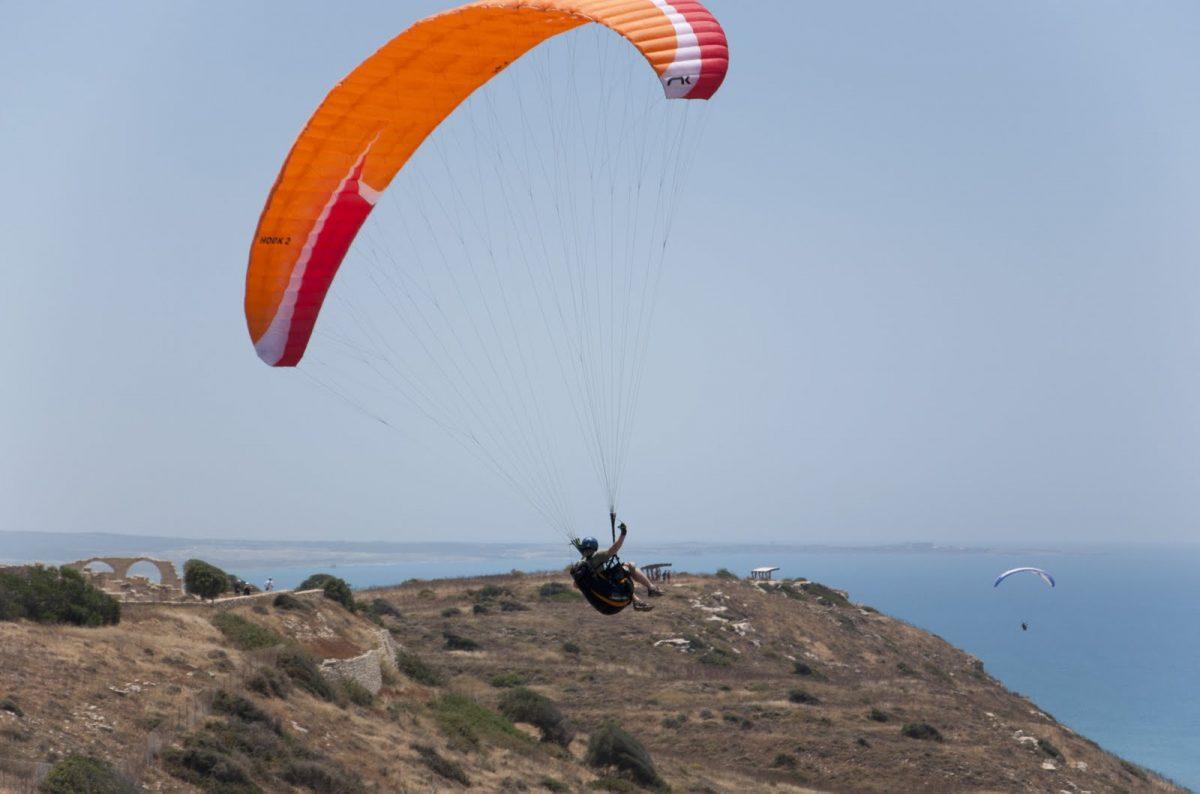 Paragliding Kourion Limassol Cyprus