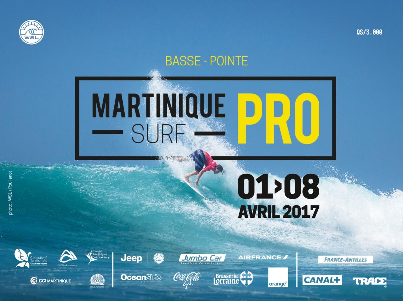 """Martinique Surf Pro"""