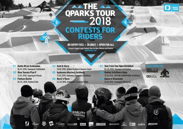 Q Parks Tour - Snowboard Tour