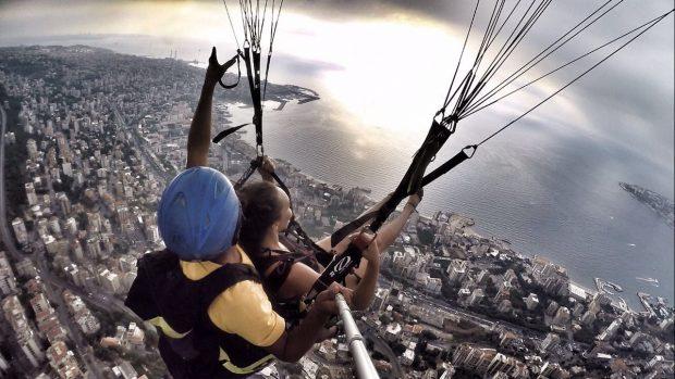 """""""Paragliding Jounieh 6"""""""